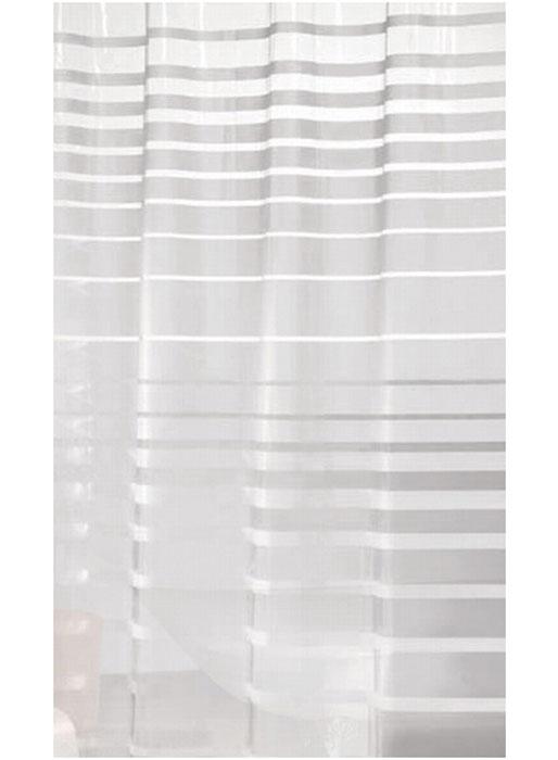 Штора для ванной Vanstore Полоски, кольцами, 180 х 180 см620-23Штора Vanstore Полоски, выполненная из ПЕВА и EVA (вспененный этиленвинилацетат), оформлена оригинальным рисунком. Она надежно защитит от брызг и капель пространство вашей ванной комнаты в то время, пока вы принимаете душ. В верхней кромке шторы предусмотрены отверстия для пластиковых колец (входят в комплект).Оригинальный дизайн шторы наполнит вашу ванную комнату положительной энергией. Количество колец: 12 шт.