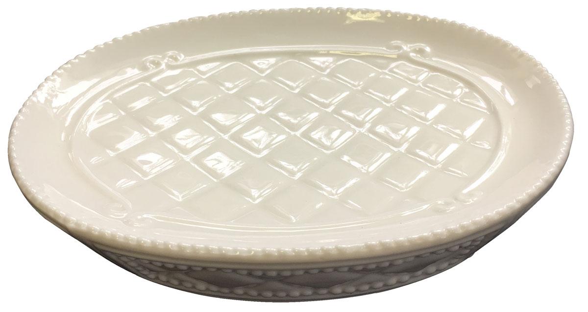 Мыльница Vanstore Blanca, цвет: белый388-04Мыльница серии BLANCA, изготовленна из керамике белого цвета, отлично подойдет для вашей ванной комнаты. Серия BLANCA, создаст особую атмосферу уюта и максимального комфорта в ванной.