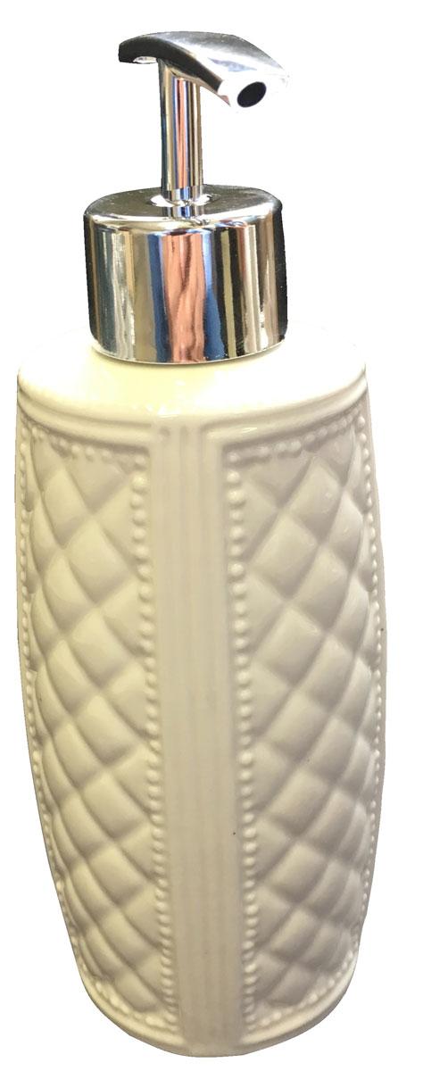 Диспенсер для мыла Vanstore Blanca, цвет: белый388-03Дозатор для жидкого мыла серии BLANCA, изготовленна из керамике белого цвета, отлично подойдет для вашей ванной комнаты. Серия BLANCA, создаст особую атмосферу уюта и максимального комфорта в ванной.