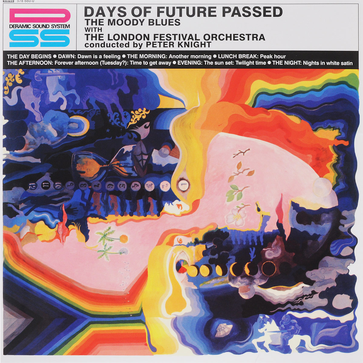 Moody Blues. Days Of Future Passed (LP)