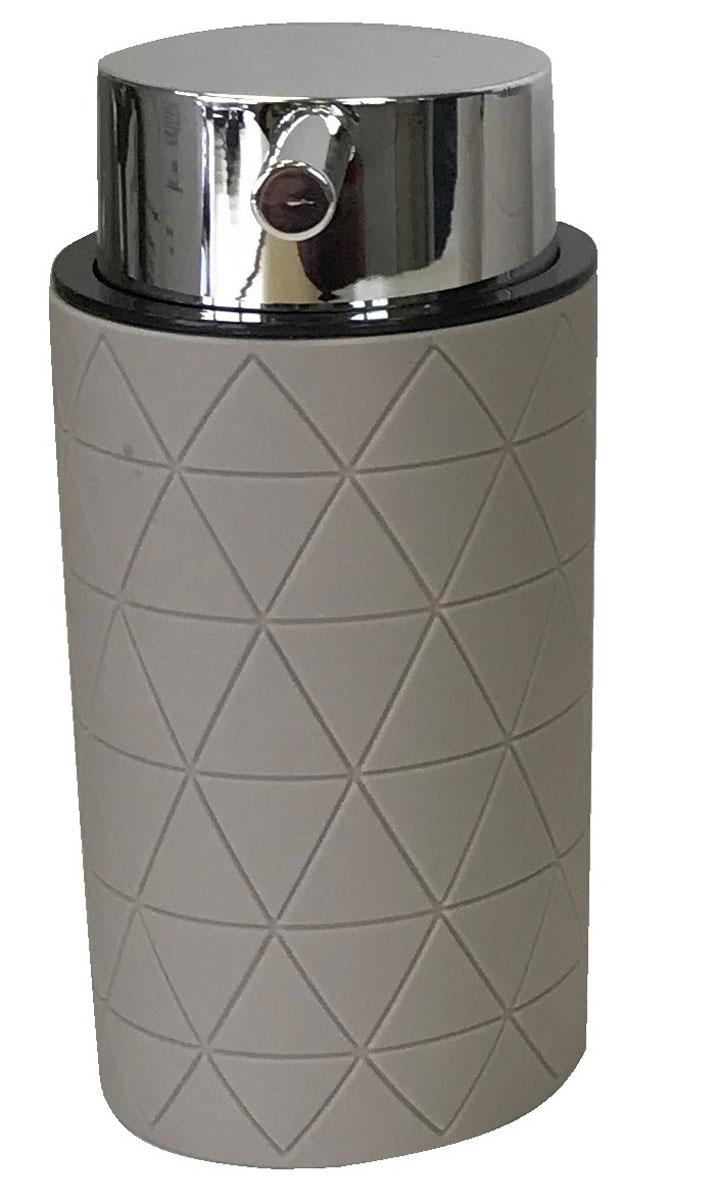 Диспенсер для мыла Vanstore Diamond, цвет: серо-коричневый314-03Дозатор для жидкого мыла серии Diamond, изготовленный из пластика с прорезиненным покрытием Soft-touch цвета Taupe (серо-коричневый) , отлично подойдет для вашей ванной комнаты.Серия Diamond создаст особую атмосферу уюта и максимального комфорта в ванной.