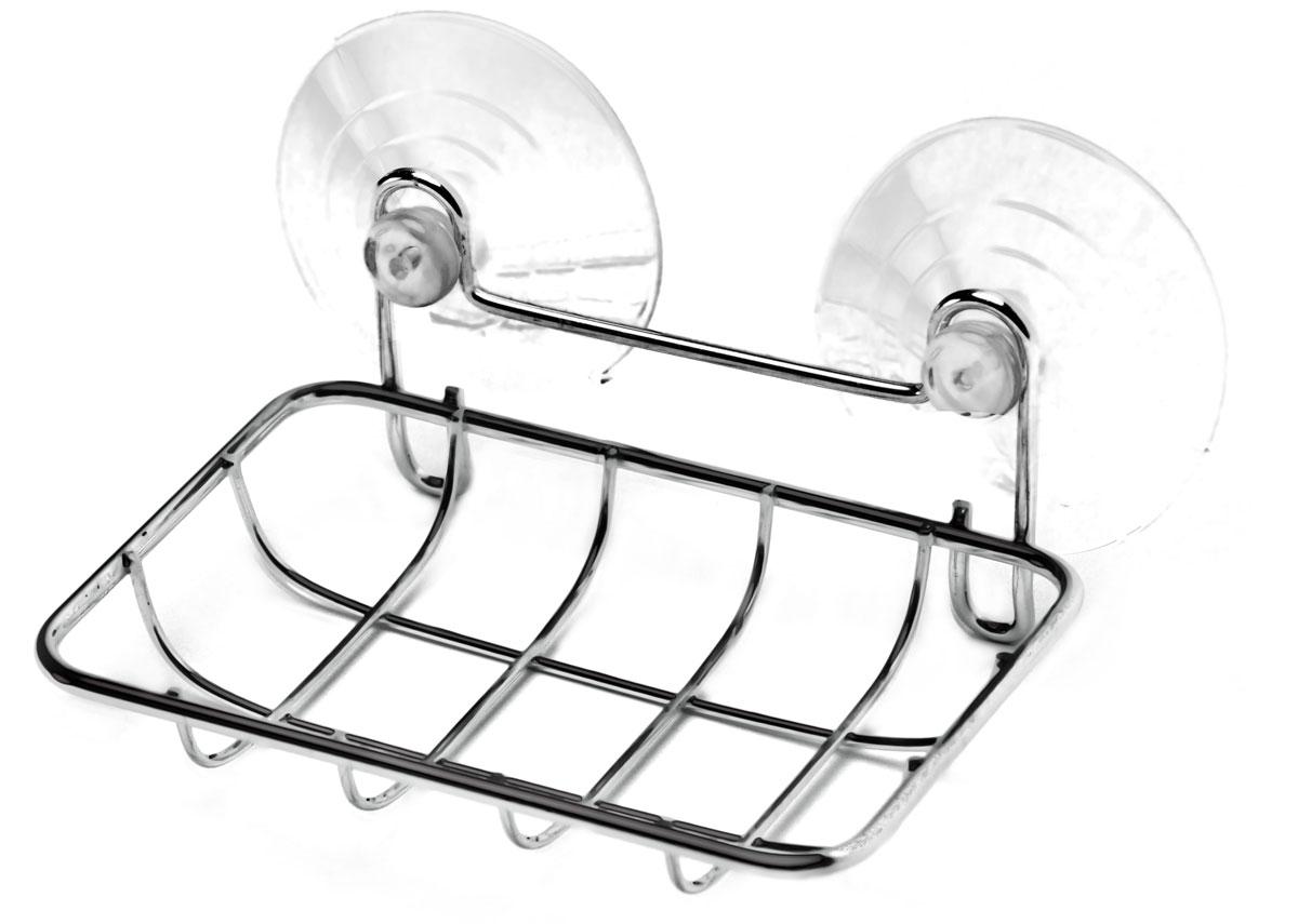 Мыльница Vanstore NEO, цвет: хром030-77Настольная мыльница Vanstore Neo выполнена из высококачественной стали.Мыльница навесная на присоске.Такая мыльница станет стильным и незаменимым аксессуаром в ванной.
