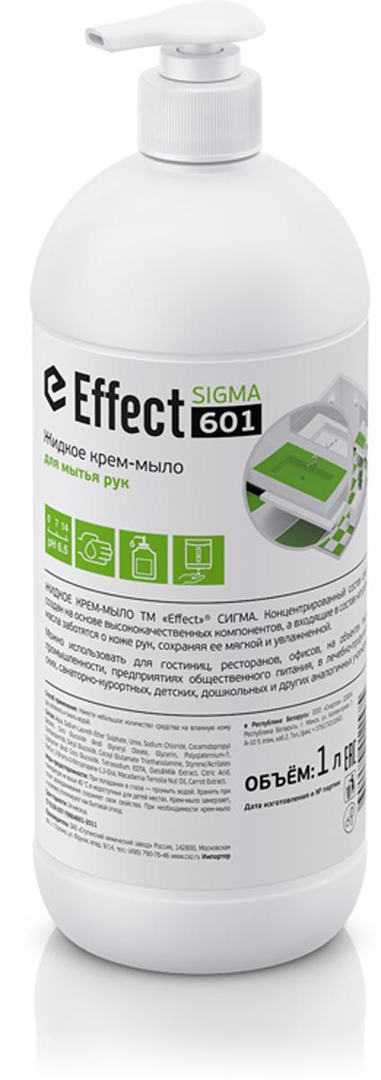 Крем-мыло жидкое для мытья рук Effect Sigma, 1 л4602984013227Крем-мыло предназначено для ежедневного ухода за кожей рук.Можно использовать для гостиниц, ресторанов, офисов, на объектах пищевой промышленности, предприятиях общественного питания, в лечебно-профилактических, санаторно-курортных, детских, дошкольных и других аналогичных учреждениях.Как выбрать качественную бытовую химию, безопасную для природы и людей. Статья OZON Гид