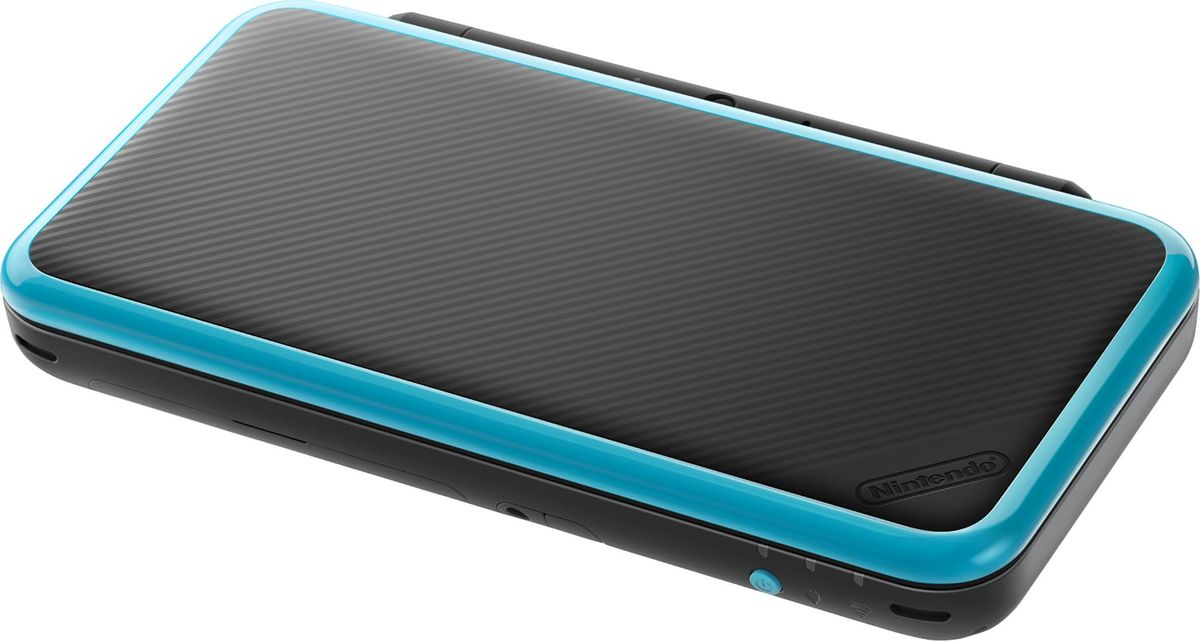 Игровая приставка New Nintendo 2DS XL, Black Turquoise + Super Mario 3D Land