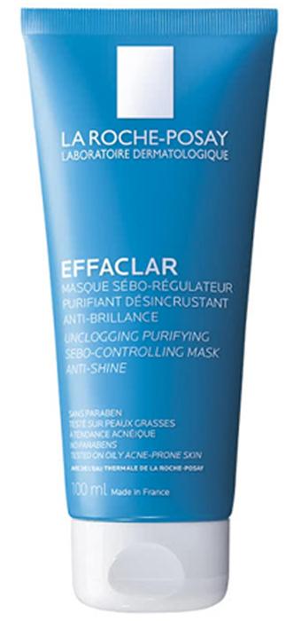 La Roche-Posay Маска Effaclar, 100 мл00111200Очищающая матирующая маска предназначена для ухода за жирной проблемной кожей. Глубоко очищает кожу и поры, заметно сокращая их, абсорбирует излишки кожного сала. При регулярном применении уменьшается выделение себума, кожа длительно сохраняет матовость.