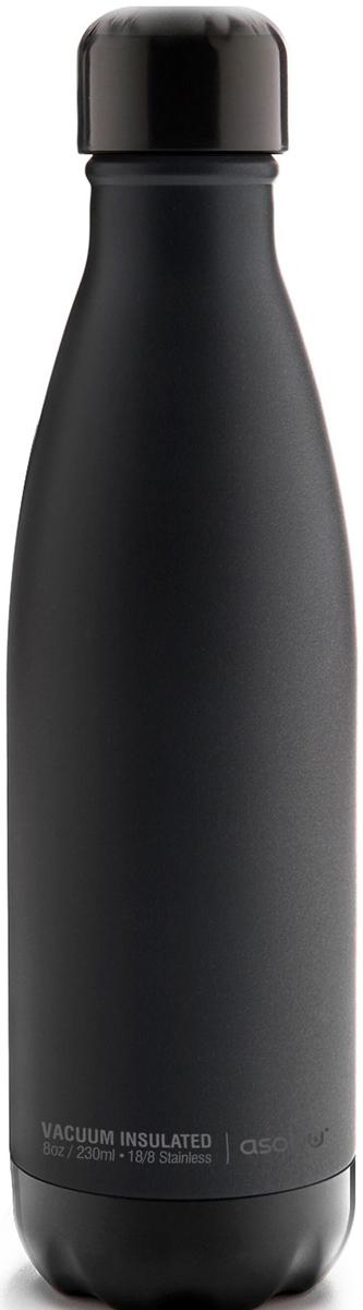 Термобутылка Asobu Central Park, цвет: черный, 0,51 л термоконтейнер для банок и бутылок asobu frosty to 2 go chiller цвет черный