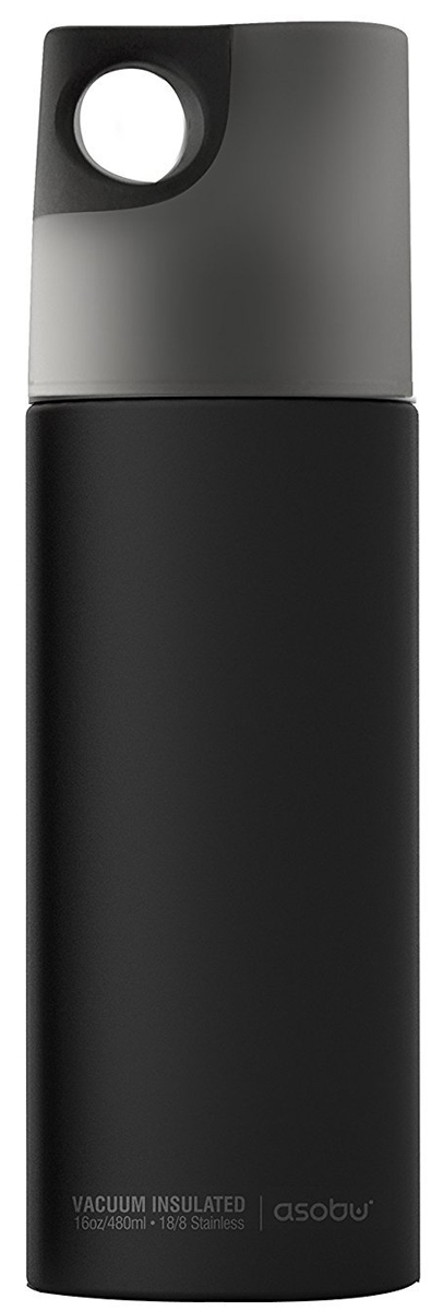 Термобутылка Asobu Le Canal, цвет: черный, серый, 0,48 лSBV19 smokeОсобенностью бутылки Le Canal является удобный захват в крышке, благодаря которому ее легко держать в руке -это идеальная емкость для использования в поездках.Из нее действительно очень удобно пить - поверхность с резиновым напылением не даст бутылке выскользнуть в самый неподходящий момент! А благодаря вакуумной изоляции за счет двойной стенки из нержавеющей стали с медным покрытием напиток будет оставаться прохладным в течение 24 часов и горячим до 12 часов.Благодаря компактной форме она легко поместится в косметичке, рюкзаке и любой сумке. Особенности:-Вакуумная изоляция / двойная изоляция с медным покрытием-Двойная стенка из нержавеющей стали-Нескользкая крышка, за которую удобно брать-Не содержит бисфенол-Можно мыть в посудомоечной машине-Наружная отделка с резиновым покрытием