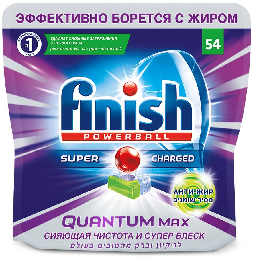 Таблетки для посудомоечной машины Finish Quantum Max. Анти-жир, 54 шт22335• Эффективное очищение, эффективное расщепление жира, удаление пятен отчая + эффект замачивания;• Функция соли и ополаскивания, а также усиления блеска;• Очищение при низкой температуре;• Защита фильтра, защита от накипи;• Защита стекла и серебра. Жесткая вода способствует образованию накипи, пятен и подтеков на Вашейпосуде. Жесткая вода снижает эффективность работы Вашей посудомоечноймашины. Содержащаяся в таблетках Quantum Max специальная соль эффективнодействует в мягкой/ средней жесткости и жесткой воде до 26°e (21°dH). Приочень жесткой воде дополнительно используйте специальную соль Finish.Продукт не защищает посуду от механических повреждений и не можетвосстановить поврежденную посуду.5% или более, но менее 15%: кислородосодержащий отбеливатель,неионогенные ПАВ; менее 5%: поликарбоксилаты, фосфонаты, энзимы,ароматизатор.Закройте упаковку должным образом, храните вдали от источников тепла ивлаги. Переработке подлежит только пустая упаковка! Меры предосторожности: содержит субтилизин. Может вызвать аллергическуюреакцию. Вызывает серьезное раздражение глаз. Хранить в местах,недоступных для детей. Использовать средства защиты глаз. При попадании вглаза: Промыть осторожно водой в течение нескольких минут. Удалитьконтактные линзы, если имеются и легко это сделать. Продолжить промывку.Если раздражение глаз не проходит, обратиться к врачу. При обращении к врачуиметь при себе упаковку продукта или этикетку. Не глотать. При попадании вполость рта обратиться к врачу.ТАБЛЕТКУ БРАТЬ ТОЛЬКО СУХИМИ РУКАМИ. ВСЕГДА ЗАКРЫВАЙТЕУПАКОВКУ ПОСЛЕ ИСПОЛЬЗОВАНИЯ. Таблетку не нужно разворачивать!Полностью растворяется в воде. Не помещать таблетку в корзину для столовыхприборов. Поместите одну таблетку на один моющий цикл в СУХОЙ отсек длямоющего средства. Для наилучших результатов мытья используйте в циклах стемпературным режимом 50/55 °С или в режиме Авто. Для мытья посуды накоротких циклах (30 минут) поместите т