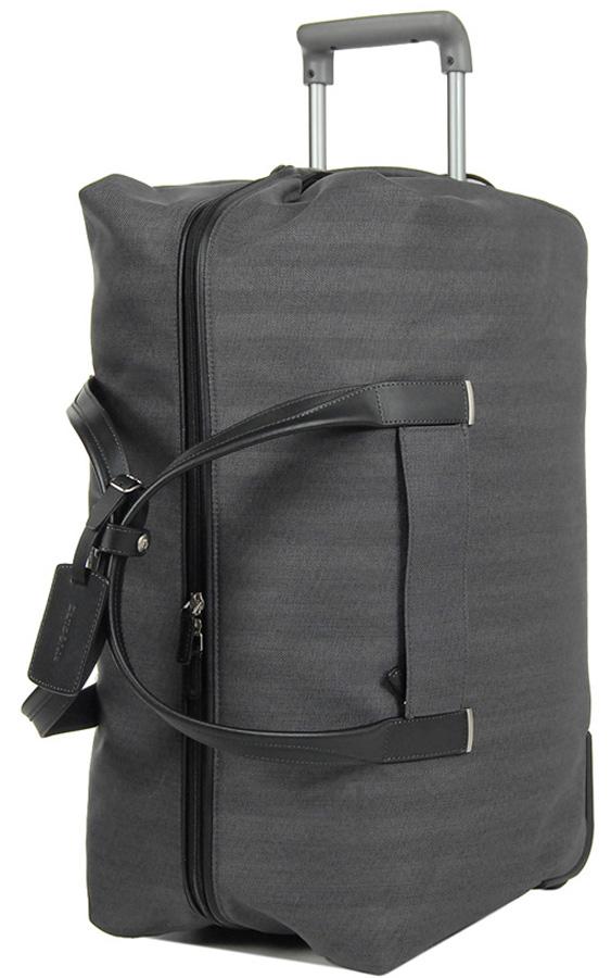 Сумка-тележка Samsonite Lite DLX, цвет: темно-серый, 53,5 л. 64D-28006 чемодан samsonite чемодан 82 см lite cube dlx