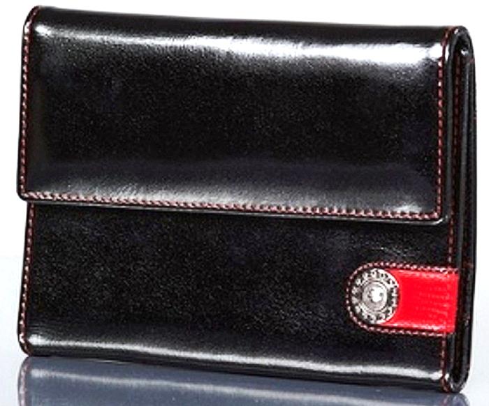 Обложка для автодокументов женская Dimanche Panthere Noire, цвет: черный. 321Натуральная кожаБумажник водителя выполнен из натуральной кожи. Закрывается клапаном на кнопку. Внутри пять карманов для визиток/кредиток и два вертикальных кармана. Пластиковый блок для автодокументов. На задней стенке дополнительный карман.