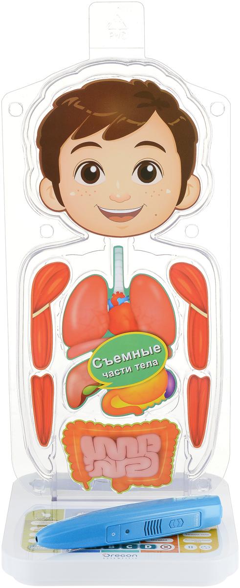 Oregon Scientific Интерактивная игрушка Занимательная анатомия oregon scientific rmr262 b black термометр