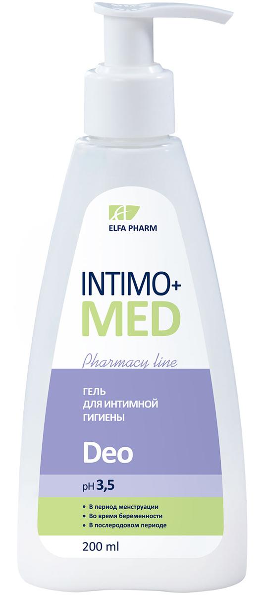 Intimo+Med Гель для интимной гигиены DEO, в период менструального цикла, беременности и после родов, pH 3,5, 200 мл5901845500364Гипоаллергенно. Содержит молочную кислоту рН 3,5 В период менструации Во время беременности В послеродовом периоде Молочная кислота – природная составляющая интимной микрофлоры. Защищает слизистую от бактерий, поддерживает физиологический рН-баланс и природную микрофлору интимных зон. Обладает активным увлажняющим действием. Гель с молочной кислотой нежно очищает кожу интимных зон, оставляет длительное ощущение чистоты, свежести и комфорта. Формула средства сочетает мягкую моющую основу с увлажняющими компонентами, не нарушает рН интимных зон. Подтвержденная эффективность*: Оставляет ощущение свежести – 75% Эффективно очищает – 95% Не пересушивает кожу интимных зон – 90% Протестировано под контролем дерматолога и гинеколога. *Тестирование при участии 20 женщин c чувствительной и атопической кожей в период менструации, беременности, а также в послеродовом периоде. Продолжительность тестирования – 3 недели. Рекомендуется для ухода за интимными зонами в период менструации, во время беременности и в послеродовом периоде.