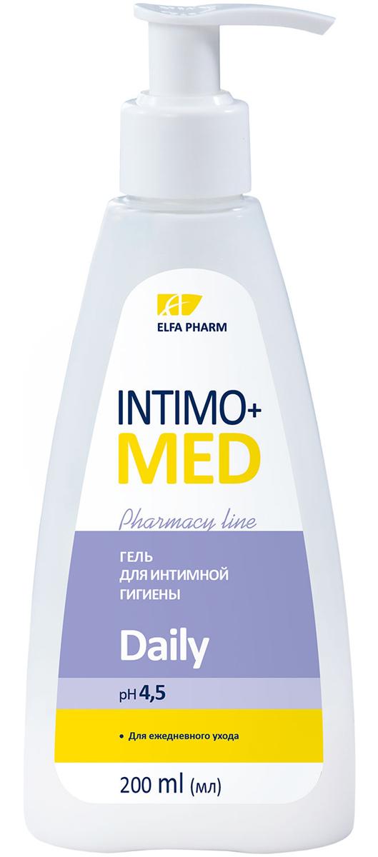 Intimo+Med Гель для интимной гигиены Daily, для ежедневного ухода, pH 4,5, 200 мл5901845500371Гипоаллергенно. Содержит молочную кислоту рН 4,5 Для ежедневного ухода Молочная кислота – природная составляющая интимной микрофлоры. Защищает слизистую от бактерий, поддерживает физиологический рН-баланс и природную микрофлору интимных зон. Обладает активным увлажняющим действием. Гель с молочной кислотой нежно очищает кожу интимных зон, хорошо смывается. Обеспечивает ежедневный комфортный уход и свежесть. Формула средства сочетает мягкую моющую основу с увлажняющими и успокаивающими компонентами, не пересушивает, не нарушает рН интимных зон. Экстракты матки боровой и копеечника – традиционные женские травы, которые благоприятно воздействуют на микрофлору интимных зон, обладают успокаивающим действием. Масла мирры и ромашки – усиливают процессы регенерации кожи. Подтвержденная эффективность*: Эффективно очищает – 100% Не пересушивает кожу – 100% Оставляет ощущение комфорта – 100% Оставляет ощущение свежести – 100% 100% женщин остались довольны использованием Intimo+med Daily* Протестировано под контролем дерматолога и гинеколога. *Тестирование при участии 20 женщин c чувствительной и атопической кожей в течение 3-х недель. Рекомендуется для ежедневного ухода за интимными зонами.