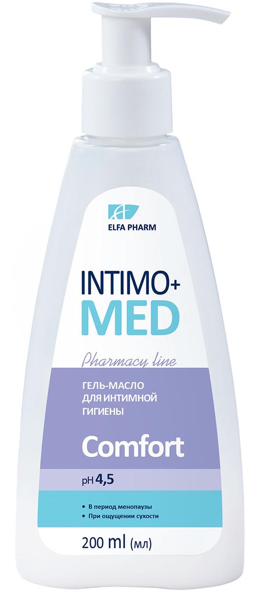 Intimo+Med Гель-масло для интимной гигиены Comfort, при ощущение сухости и менопауза, pH 4,5, 200 мл5901845500395Гипоаллергенно Содержит молочную кислоту рН 4,5В период менопаузыПри ощущении сухости. Молочная кислота – природная составляющая интимной микрофлоры. Защищает слизистую от бактерий, поддерживает физиологический рН-баланс и природную микрофлору интимных зон. Обладает активным увлажняющим действием. Гель-масло с молочной кислотой нежно очищает кожу интимных зон, хорошо смывается. Оставляет длительное ощущение комфорта и свежести. Формула средства сочетает мягкую моющую основу с увлажняющими и успокаивающими компонентами, не пересушивает, не нарушает рН интимных зон. Подтвержденная эффективность*: Не пересушивает кожу интимных зон – 100% Эффективно очищает – 100% Оставляет ощущение комфорта – 90% Оставляет ощущение свежести – 100% 90% женщин остались довольны использованием Intimo+med Comfort* Протестировано под контролем дерматолога и гинеколога. *Тестирование при участии 20 женщин в период пре-менопаузы, менопаузы и пост-менопаузы в течение 3-х недель. Рекомендуется для ежедневного ухода за интимными зонами у женщин при ощущении сухости и дискомфорта, а также в период менопаузы.