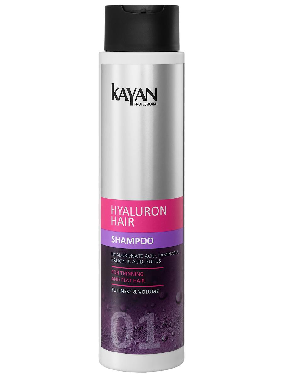 KAYAN Professional Шампунь HYALURON HAIR, для тонких и лишенных объема волос, 400 мл eva kayan футболка женская eva kayan