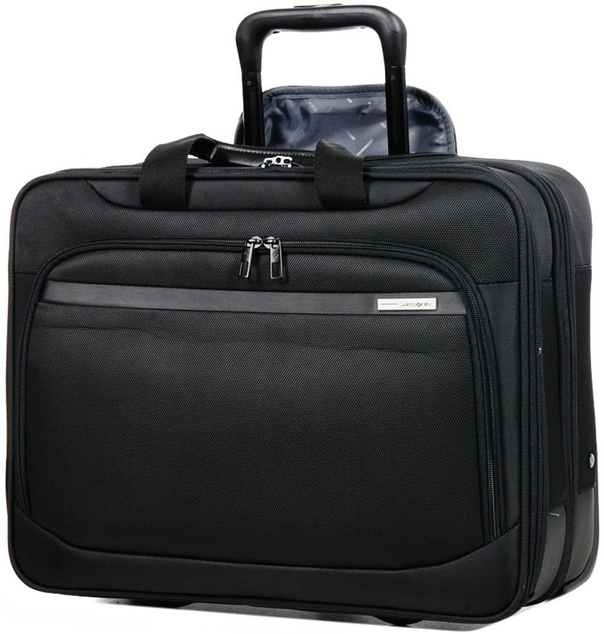 Мобильный офис Samsonite Vectura, цвет: черный, 26,5 л. 39V-09010 чемодан samsonite чемодан 78 см base boost