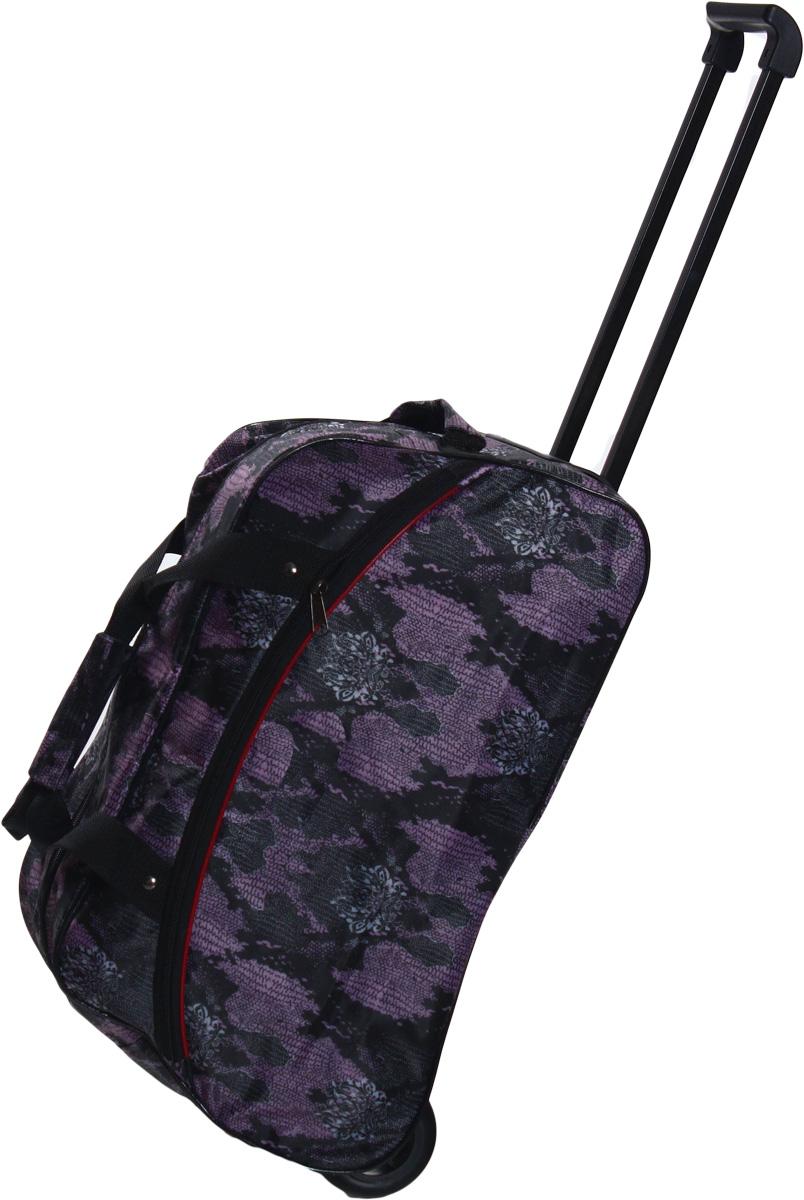 Сумка дорожная Ibag Фиолетовые водоросли, на колесах, цвет: фиолетовый, 39 л1802 фиолетовые водорослиДорожная сумка на колесах Ibag удобна тем, что в поездку можно взять больше вещей, не испытываяизлишних неудобств при транспортировке. Благодаря колесам нагрузка при передвижении уменьшается и путешествия проходят намного легче.Просто выдвиньте ручку и возите сумку у себя за спиной, вместо того чтобы нести ее в руке или на плече. Для удобства транспортировкиколлекция сумок оснащена выдвижной ручкой. Она надежно фиксируется и превращает сумку в некое подобие тележки. Сумка на колесах свыдвижной ручкой занимает совсем немного места и крайне удобна в хранении. Данная коллекция выполнена из легкой, очень прочной тканикоторая великолепно сохраняет форму, устойчива к световому и тепловому воздействию и проста в уходе. Легкая и удобная, послужитнезаменимым спутником как в деловой поездке так и в дальнем путешествии, а легкоскользящие колеса не создадут лишнего шума приперемещении.