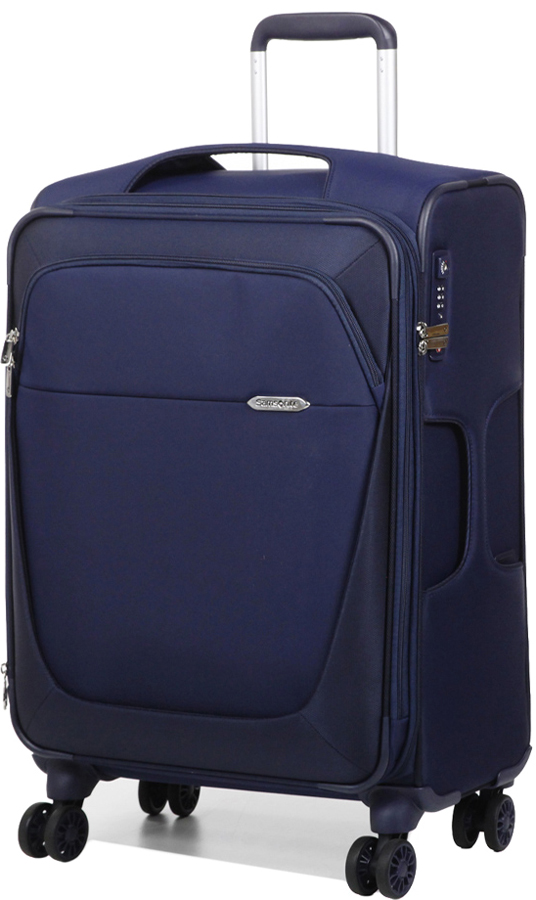 Чемодан Samsonite B-Lite 3, цвет: темно-синий, 55,5/61 л. 39D-11005 чемодан samsonite чемодан 78 см base boost