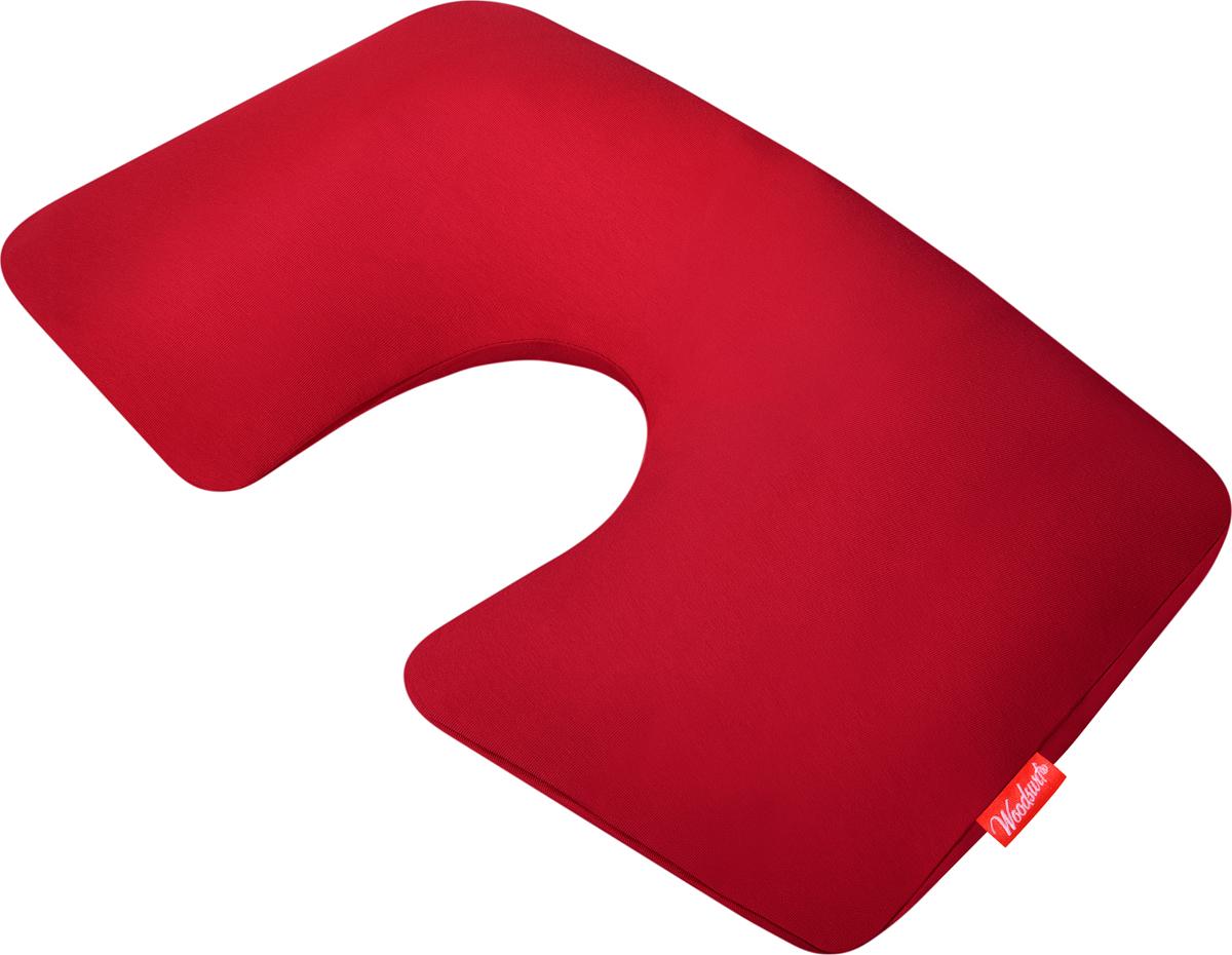 Подушка надувная Woodsurf  First Class , цвет: красный - Подушки