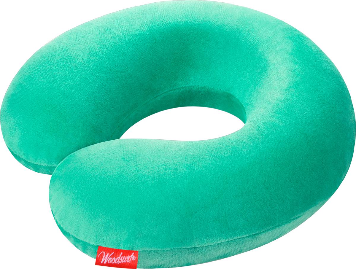 Подушкa для путешествий Woodsurf  La Siesta Memory Foam , цвет: мятный - Подушки