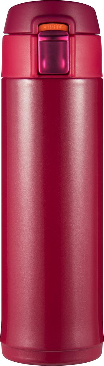 Термостакан Woodsurf Quick Open 2.0, цвет: красный, 300 мл