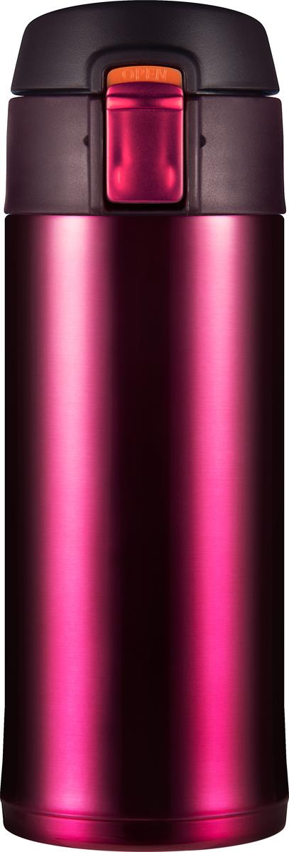 Термостакан Woodsurf Quick Open 2.0, цвет: бургунди, 350 мл аксессуар очки защитные bosch 1608m0005b