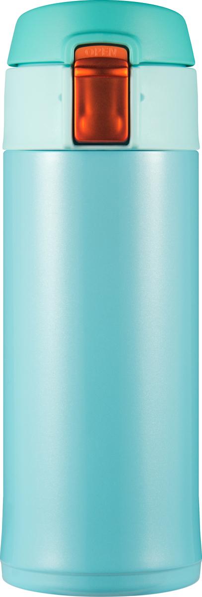 Термостакан Woodsurf Quick Open 2.0, цвет: мятный, 350 мл