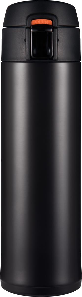 Термос Woodsurf Quick Open 2.0, цвет: черный, 480 млQOTC2480-02Материал изготовления: сталь AISI 304;Объем: 480 мл;Все прокладки - высокотемпературный пищевой силикон;Материал изготовления крышки - нетоксичный пищевой пластик BPA FREE;Исследования при комнатной температуре (20°С):Начальная температура воды в термосе - 95°C Температура воды через 2 часа - 82°СТемпература воды через 6 часов - 74°С;Параметры:Высота: 23,0 см,диаметр: 6,7 см;диаметр горловины: 5,2 см;Размеры в упаковке: 8,6х26,8х8,6,Вес: 0,355 кг.В комплекте силиконовое ситечко для заваривания чая/трав в термостакане. Используйте термостакан в вертикальном положении.