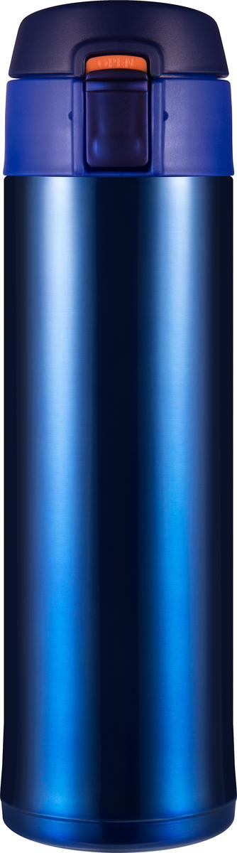 Термос Woodsurf Quick Open 2.0, цвет: синий металлик, 480 млQOTC2480-03Материал изготовления: сталь AISI 304; Объем: 480мл; Все прокладки - высокотемпературный пищевой силикон;Материал изготовления крышки - нетоксичный пищевой пластик BPA FREE; Исследования при комнатной температуре (20С): Начальная температура воды в термосе - 95C Температура воды через 2 часа - 82СТемпература воды через 6 часов - 74С; Параметры: Высота: 23,0 см, диаметр: 6,7 см; диаметр горловины: 5,2 см; Размеры в упаковке: 8,6*26,8*8,6, Вес: 0,355 кг. Цвет термостакана: синий металлик; Упаковка: гофрированный картон. В комплекте силиконовое ситечко для заваривания чая/трав в термостакане. Используйте термокружку в вертикальном положении.