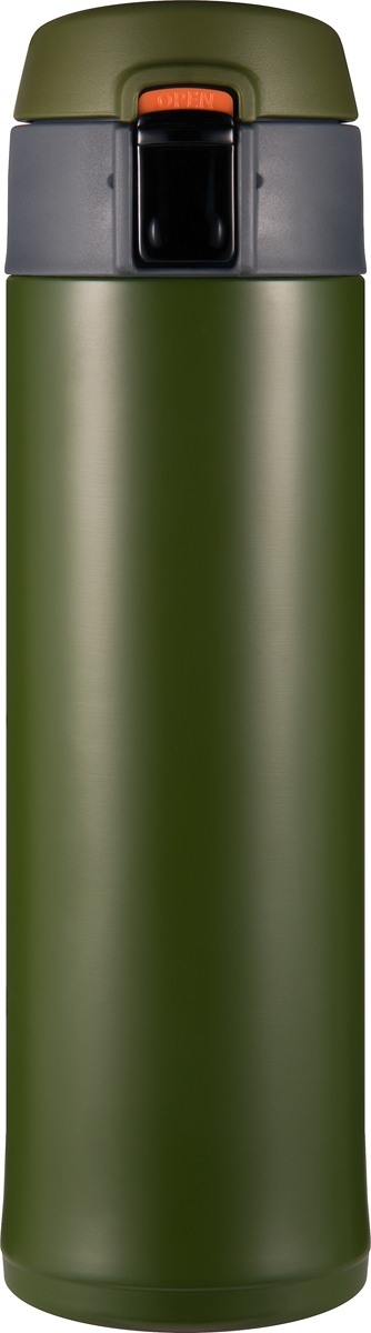 Термос Woodsurf Quick Open 2.0, цвет: зеленый, 480 млQOTC2480-04Материал изготовления: сталь AISI 304;Объем: 480 мл;Все прокладки - высокотемпературный пищевой силикон;Материал изготовления крышки - нетоксичный пищевой пластик BPA FREE;Исследования при комнатной температуре (20°С):Начальная температура воды в термосе - 95°C Температура воды через 2 часа - 82°СТемпература воды через 6 часов - 74°С;Параметры:Высота: 23,0 см,диаметр: 6,7 см;диаметр горловины: 5,2 см;Размеры в упаковке: 8,6х26,8х8,6,Вес: 0,355 кг.В комплекте силиконовое ситечко для заваривания чая/трав в термостакане. Используйте термостакан в вертикальном положении.