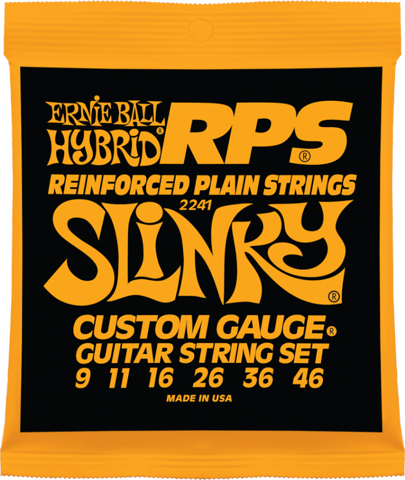 Ernie Ball Hybrid Slinky RPS Nickel Wound струны для электрической гитары (9-46) bk 4371 18k alloy crystal artificial fancy color diamond pendant necklace golden 45cm