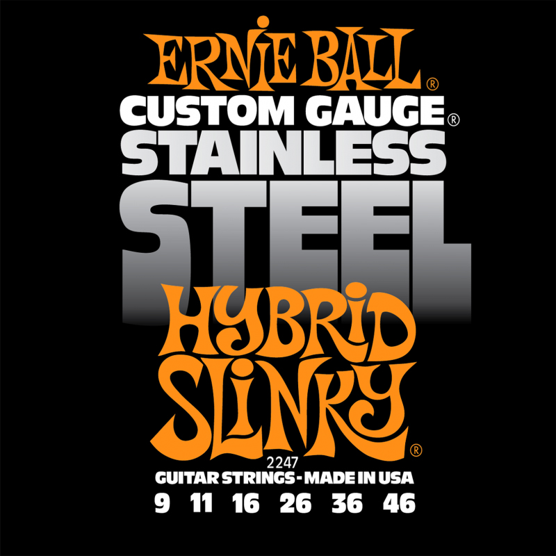 Ernie Ball 2247 струны для электрической гитары Stainless Steel Hybrid Slinky (9-11-16-26-36-46) 3d stereo starry sky flower and bird mural wallpaper living room sofa tv background wall paintings kid s bedroom papel de parede