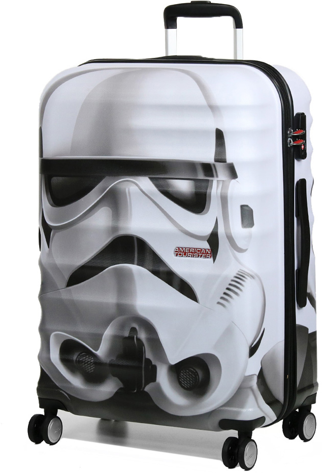 Чемодан Star Wars by American Tourister  Wavebreaker Disney. Штурмовик , 64 л. 31C-15006 - Чемоданы и аксессуары