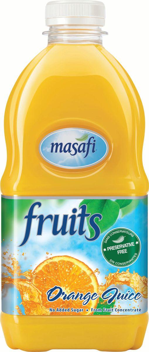 Masafi Сок апельсин, 1 л6291001010059Masafi Бодрящий Апельсин – это 100% чистый, натуральный апельсиновый сок со своим свежим и насыщенным вкусом с первой до последней капли. Богатый источник питательных веществ и витаминов без содержания сахара это отличный способ начать свой день, а также утолить жажду в знойную погоду! Без добавления сахара.Изготавливается и бутилируется в эмирате Рас-эль-Хайма, ОАЭ