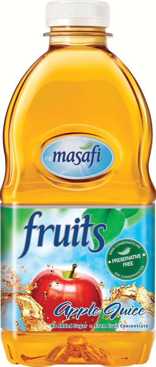 Masafi Сок яблоко, 1 л6291001010066Masafi Насыщенное Яблоко содержит все полезные свойства фрукта, что позволяет подпитать Ваш организм целым спектром полезных веществ. 100%-й натуральный сок с насыщенным живым вкусом будет напоминать Вам о блестящих, росистых яблоках, свежесобранных из сада, со всеми их витаминами. Применение современной технологии, не имеющей аналогов в мире, позволяет сохранить все полезные свойства свежих плодов. Без добавления сахара. Изготавливается и бутилируется в эмирате Рас-эль-Хайма, ОАЭ