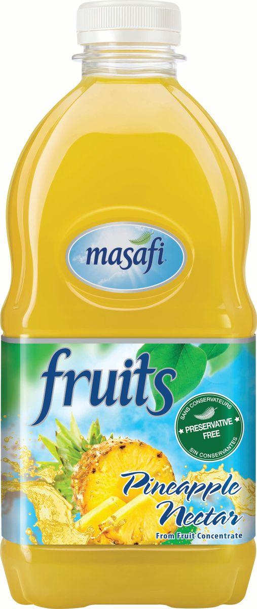 Masafi Нектар ананас, 1 л6291001010370Masafi Спелый Ананас это сочетание нежного аромата ананаса, непревзойденного вкуса и пользы для здоровья от плодов в натуральном виде. Идеальное сочетание вкусовых и питательных свойств!Изготавливается и бутилируется в эмирате Рас-эль-Хайма, ОАЭ