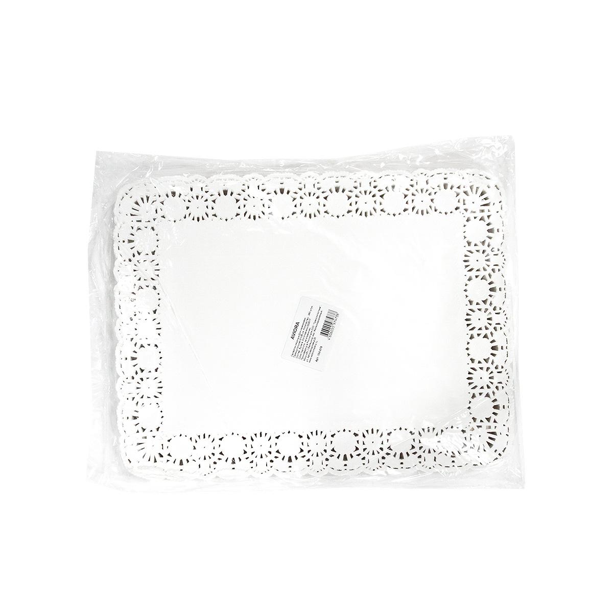 Салфетки бумажные Aviora, ажурные, 27 х 35 см, 250 шт104-076 Произведены в России безопасные при контакте с пищей изысканный узор по контуру салфетокПредназначены для сервировки стола.Используются для красивой подачи тортов и пирожных. Оригинально смотрятся столовые приборы. Небольшие диаметры используются для подачи чая / кофе.