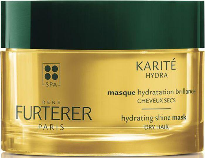 Rene Furterer Karite Hydra Увлажняющая маска для сухих волос, 200 мл3282770107340Увлажняющая маска для эффекта сияния обволакивает волосы своей кремовой густой формулой. Масло Ши и формула Cimentrio разглаживают волокно волос и обеспечивают интенсивную гидратацию
