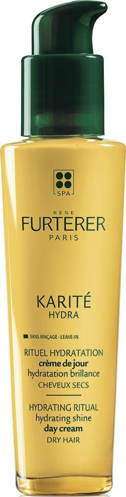 Rene Furterer Karite Hydra Увлажняющий лосьон для сухих волос, 100 мл3282770107432Увлажняющий лосьон для сухих волос имеет оригинальную текстуру гель-крема. Основанную на 86% водной фазе этот крем легко проникает и заполняет волосы, как вода. Его формула, схожая с формулой средств для ухода за кожей, подходит для ежедневного использования. Волосы легко расчесываются и укладываются. Полное восстановление волос без утяжеления.