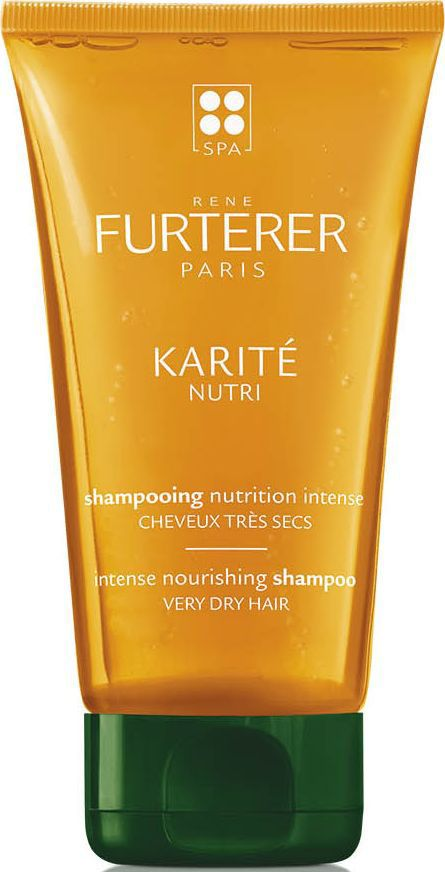 Rene Furterer Karite Nutri Шампунь интенсивно питающий для очень сухих волос, 150 млBHL-14Превосходная формула интенсивного питательного ШАМПУНЯ объединяет 12% питательных масел с маслом Ши. Созданная в сочетании мягкой очищающей основой и густой изысканной текстурой, она питает волосы и восстанавливает комфорт кожи головы.