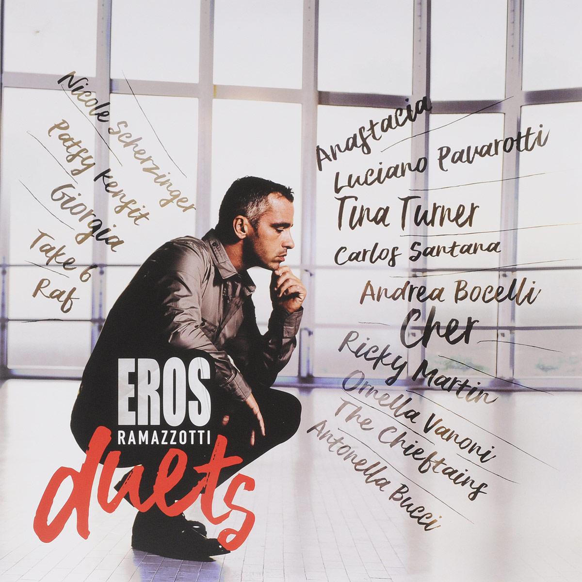 Эрос Рамазотти Eros Ramazzotti. Eros Duets (2 LP) eros m edt