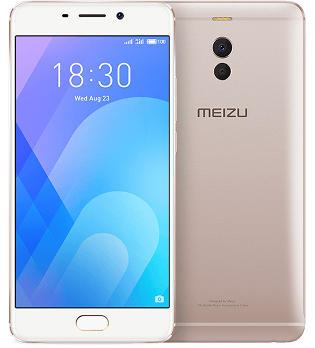 Meizu M6 Note 64GB, Gold смартфон meizu m5 note m621h 16gb серый