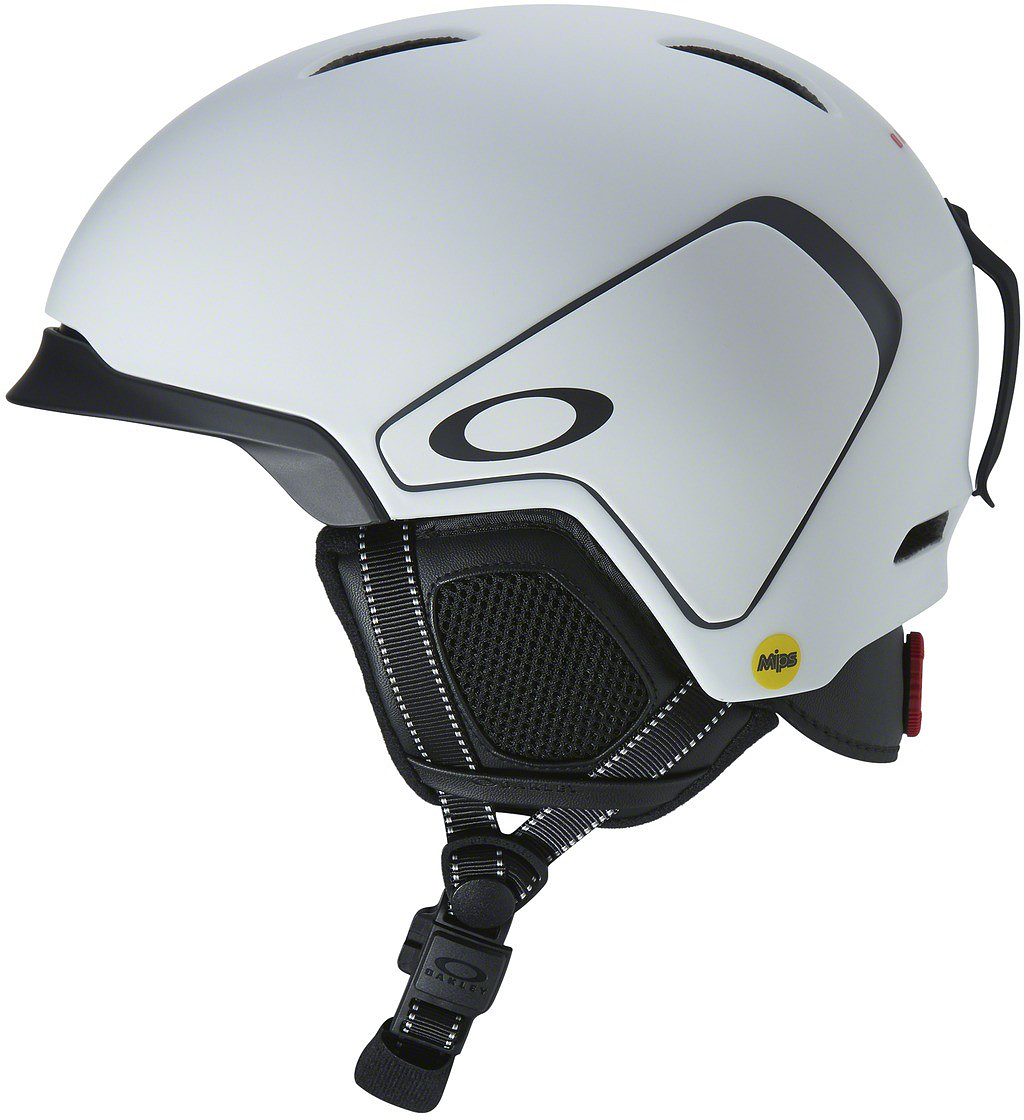 Шлем зимний Oakley  MOD3 MIPS Matte White , цвет: белый. Размер L - Защита
