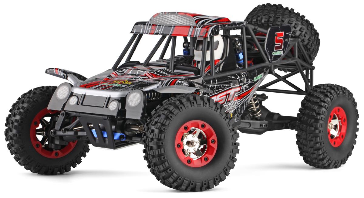 Wltoys Машинка на радиоуправлении 4WD A12428-С Batmobile Car цвет черный красный масштаб 1:12 wltoys машинка на радиоуправлении 4wd rock climber 12428 цвет зеленый масштаб 1 12