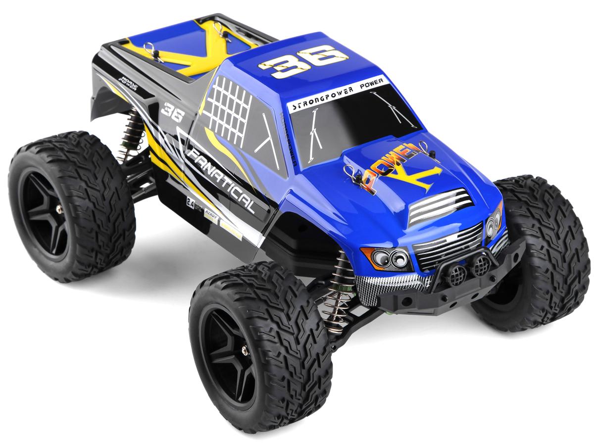 Wltoys Машинка на радиоуправлении 4WD Truggy A323 цвет синий масштаб 1:12 - Радиоуправляемые игрушки