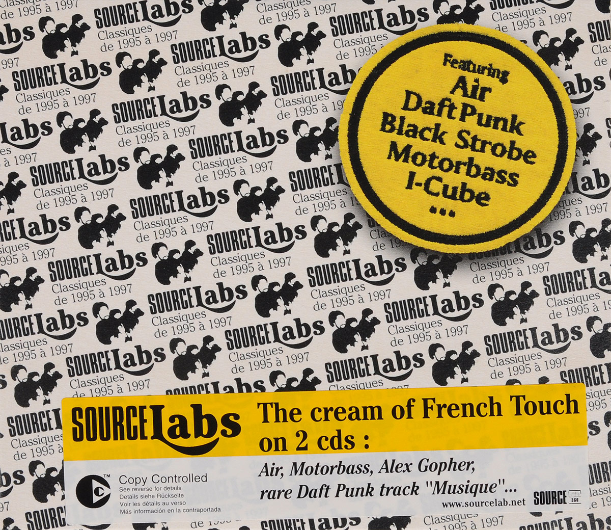 VARIOUS ARTISTS. SOURCELABS cd various artists the legacy of electronic funk