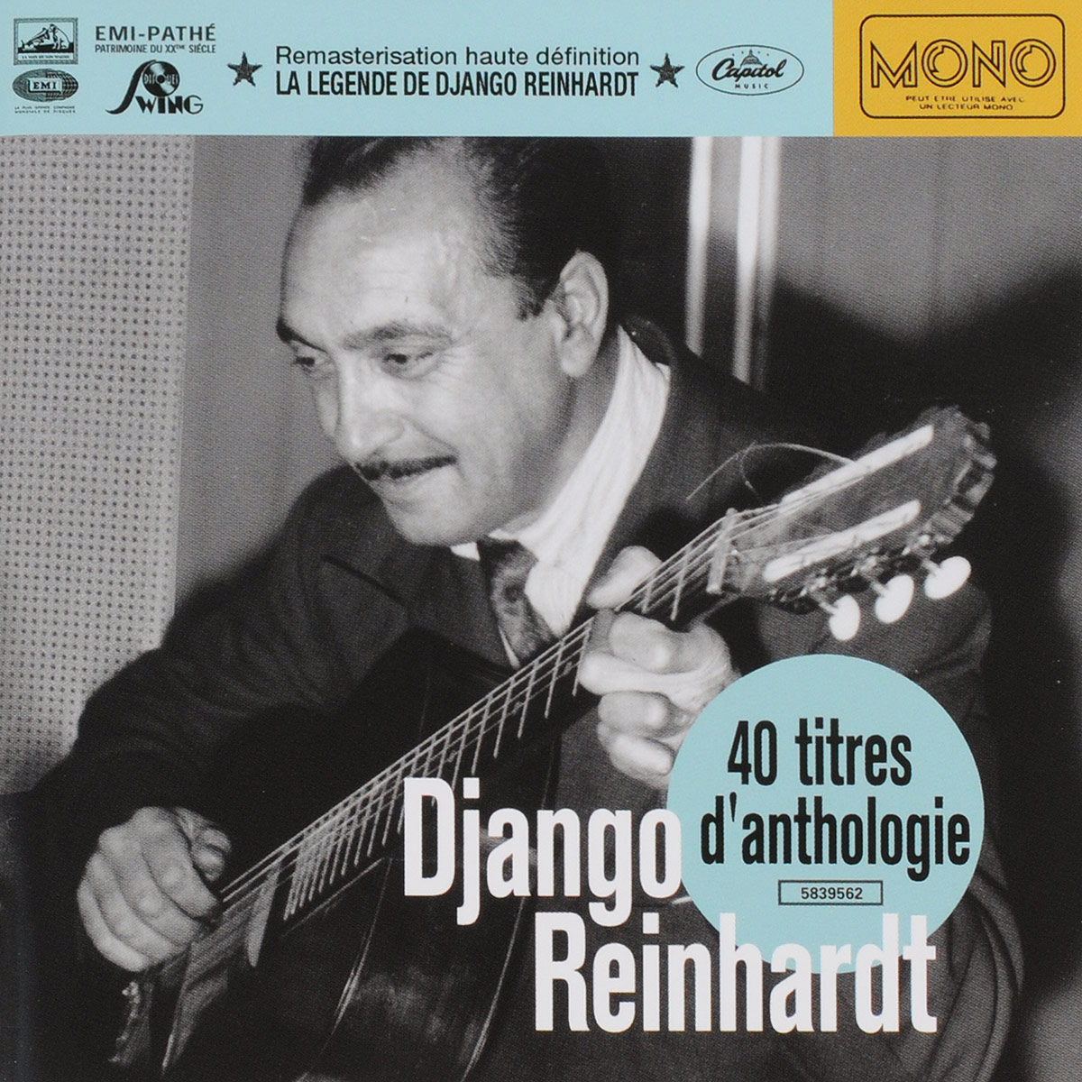 Исполнитель: REINHARDT, DJANGOАльбом: 40 TITRES D'ANTHOLOGIEПроизводитель: EMI MUSIC FRANCE