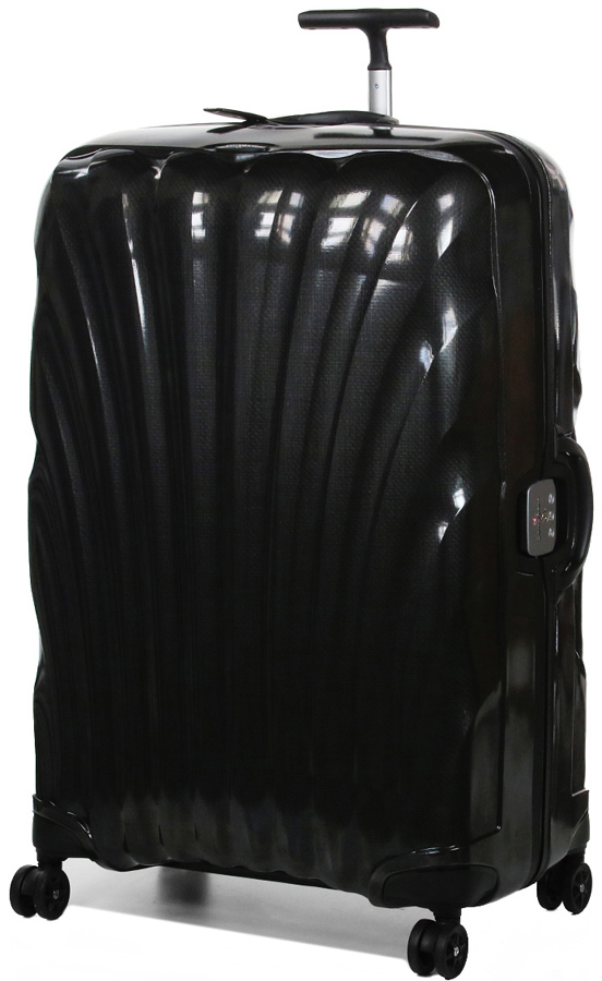 Чемодан Samsonite Lite-Locked Fl, цвет: черный, 93 л. 01V-09102 чемодан samsonite чемодан 78 см base boost
