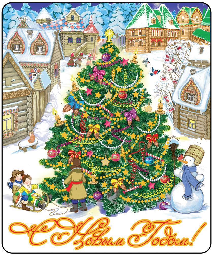 Магнит декоративный Елка в снежном городе, 5 х 6 см42278Магнит декоративный Елка в снежном городе выполнен из агломерированного феррита. Декоративный магнит - это популярный сувенир, который можно подарить родственникам, друзьям или коллегам на Новый год.
