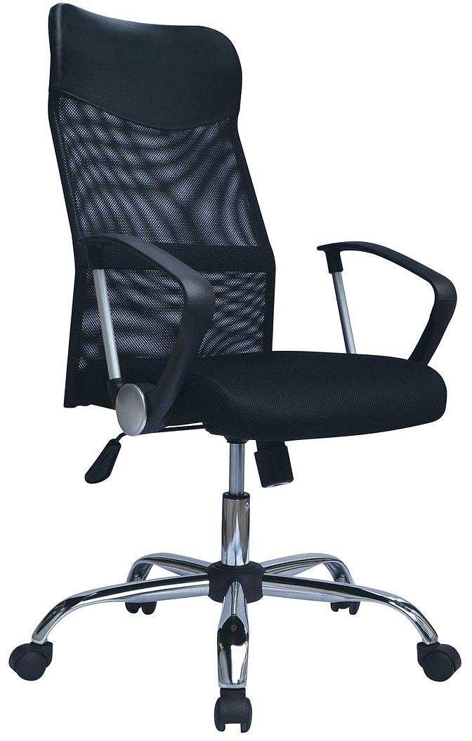 Кресло оператора Brabix Flash MG-302, цвет: черный530867Удобное кресло Brabix Flash MG-302 - эталон офисного стиля. Его идеальные формы исочетание черного цвета с хромированными элементами превосходно впишутся в любойинтерьер. Сиденье - практичная, стойкая к выцветанию мебельная ткань TW.Материал обивки спинки - прочная акриловая сетка. Механизм качания Top-Gun с регулировкойпод вес сидящего позволяет изменять высоту сиденья, а также фиксировать наклон кресла врабочем положении. Эргономичная профилированная спинка.Механизм Top-Gun.Подлокотники - пластиковые.Хромированное металлическое пятилучие.Рекомендуемая нагрузка на кресло до 100 кг.